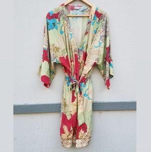 Sudara-Floral Kimono in the Anju Print